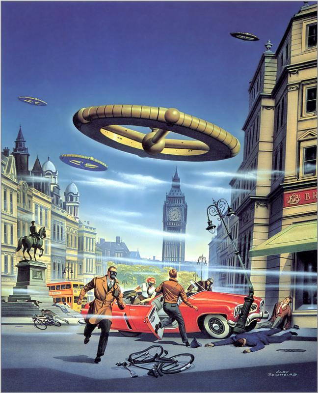 Алекс Шомбург. НЛО атакует Лондон