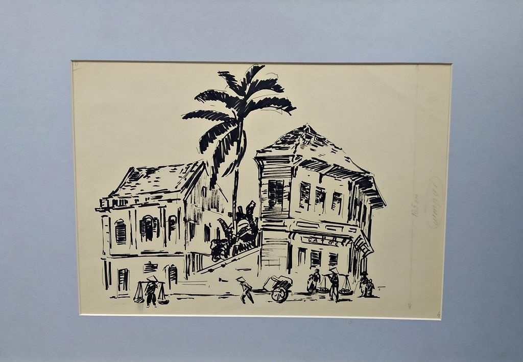 Vasily Nikitovich Zachinaev. Corner of Hanoi
