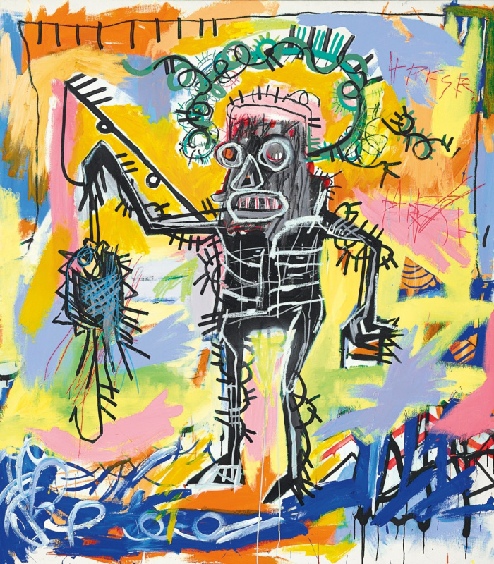 Jean-Michel Basquiat. Fishing