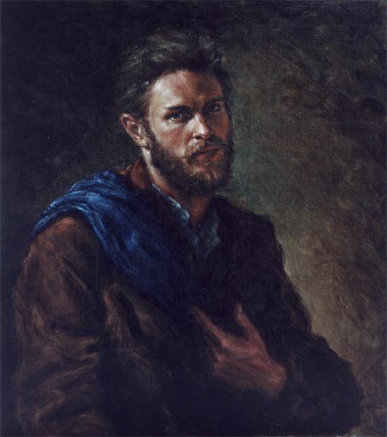 Ван Рейни Хечт-Нильсен. Автопортрет