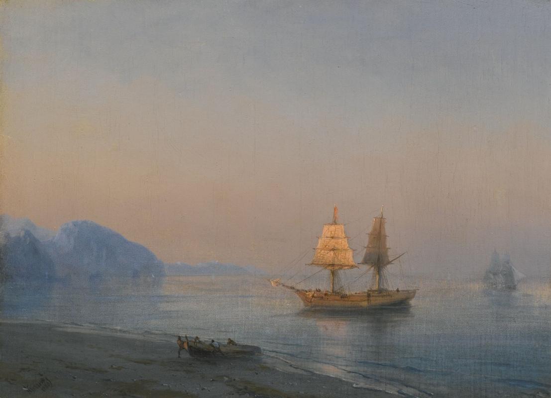 Ivan Aivazovsky. Morning in Yalta
