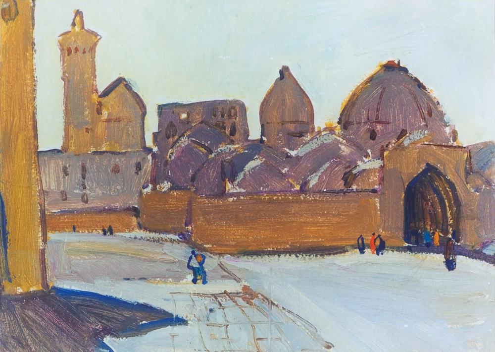 Robert Petracovich Avagyan. Bukhara. Fortress Ark.