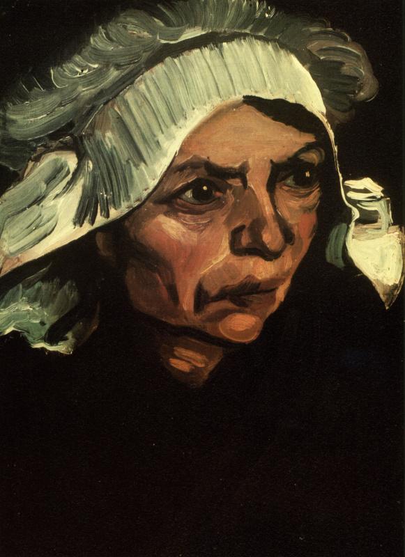 Винсент Ван Гог. Крестьянка в белом чепце (вариант)