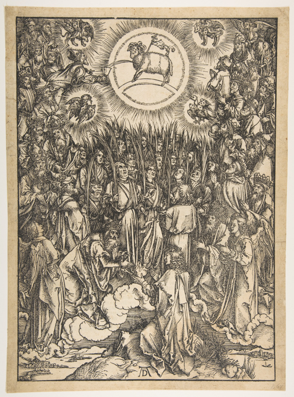 Albrecht Durer. The Worship Of The Lamb