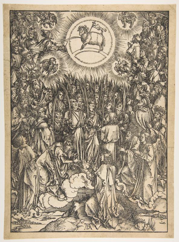 Albrecht Durer. The Worship Of The Lamb
