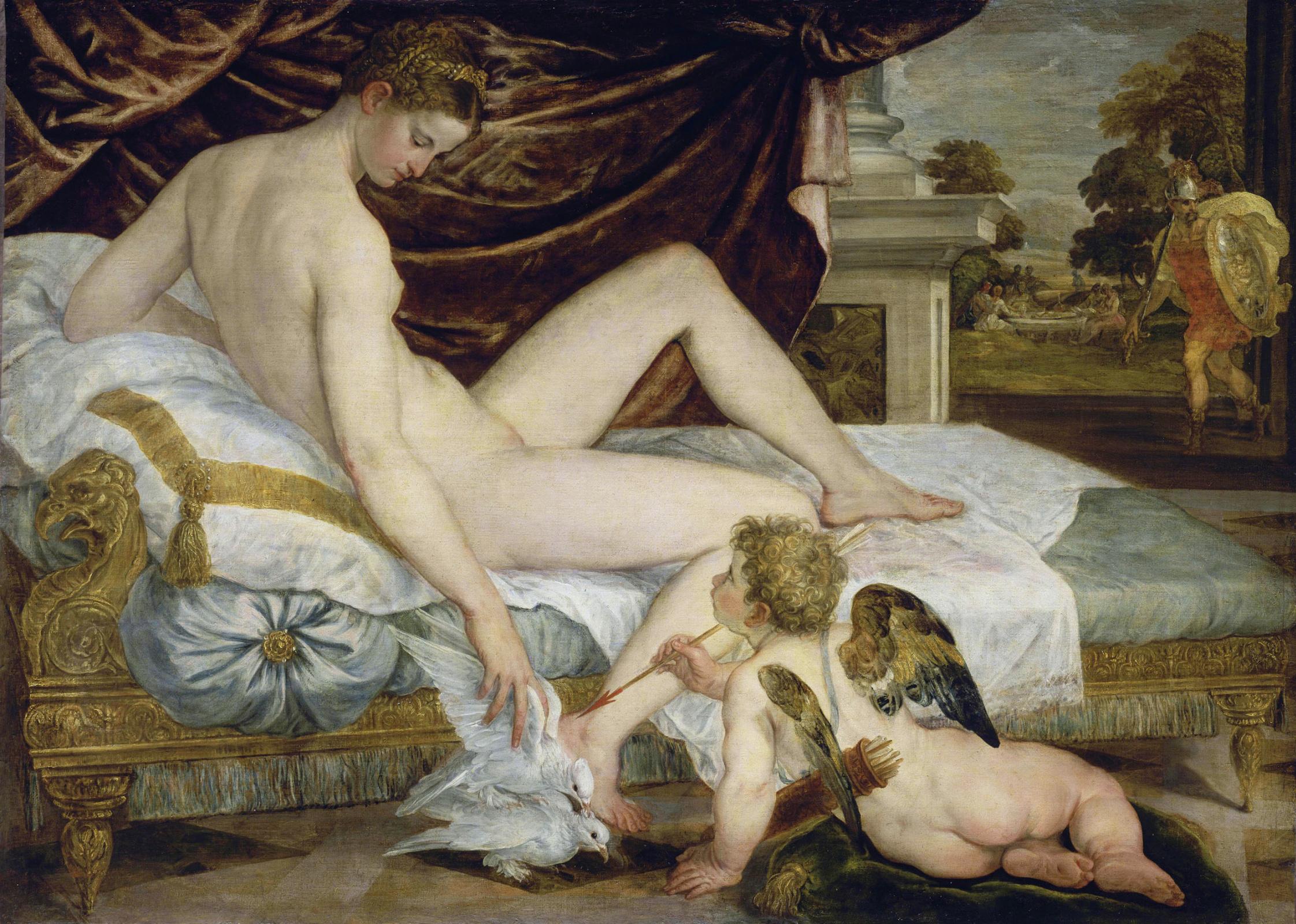 Ламберт Сустрис. Венера и Амур