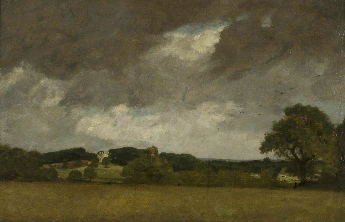 John Constable. View of Malvern Hall from the South-West