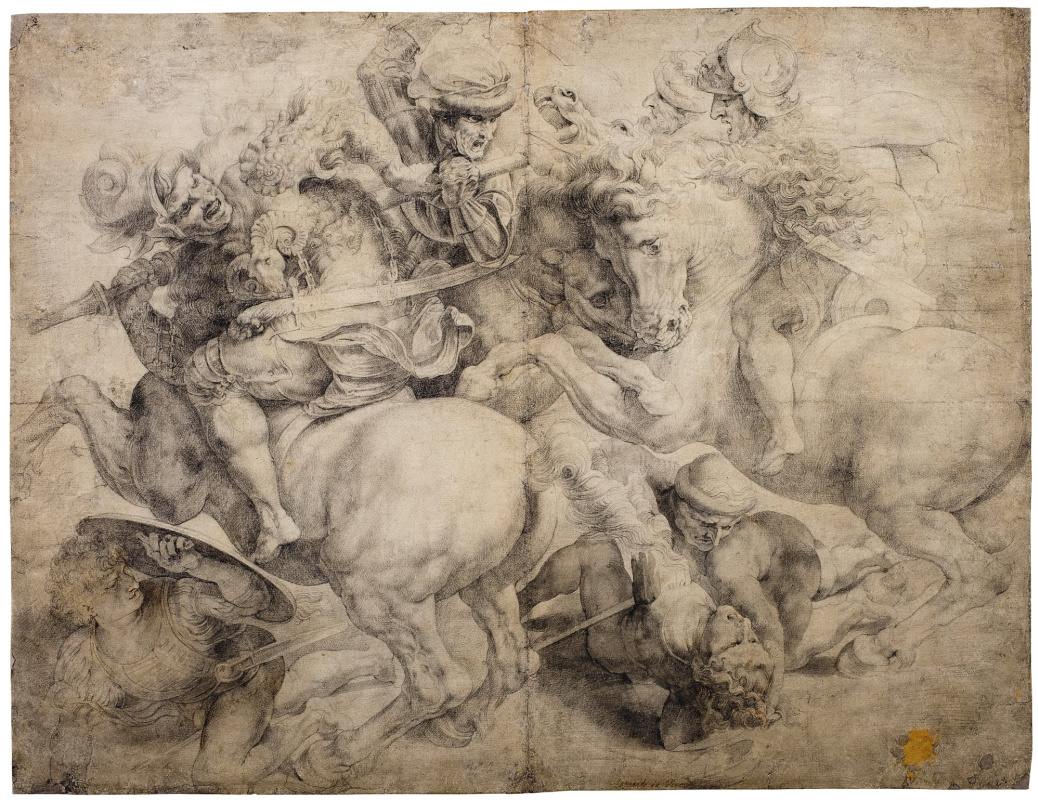 Unknown artist. The Fight for the Standard (The Battle of Anghiari), after Leonardo