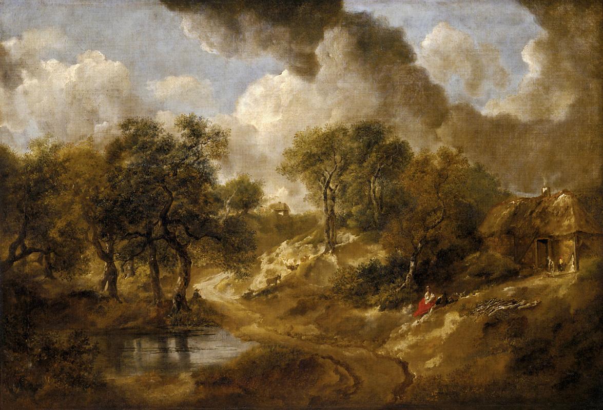 Томас Гейнсборо. Пейзаж в Саффолке