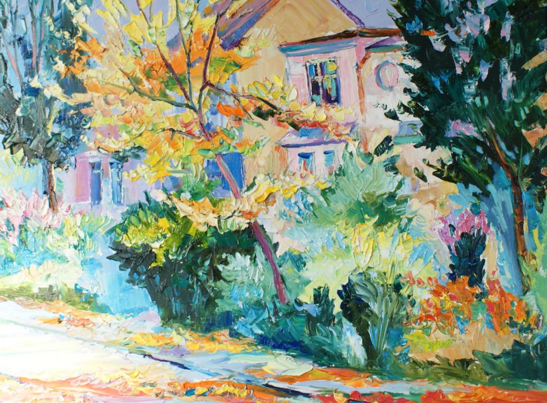"Boris Viktorovich Zhigalov. ""All the colors of autumn"""