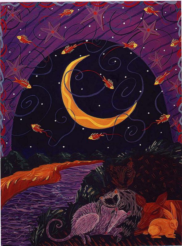 Дана Симсон. Лунная рыбалка