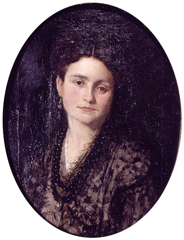 Игнасио Пиназо Камарленч. Портрет жены художника