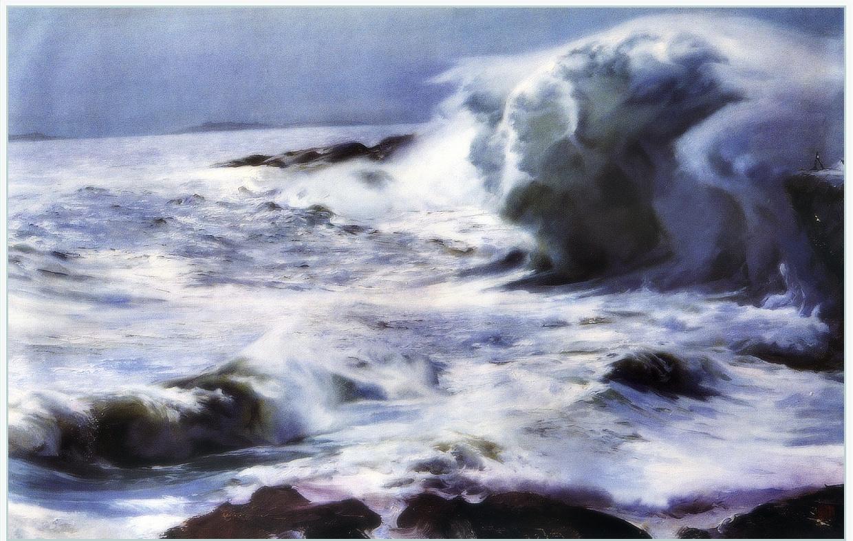 Ю. Пуджиес. Волны