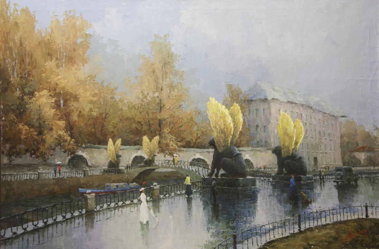 Alexander Vasilievich Yudintsev. Bank Bridge