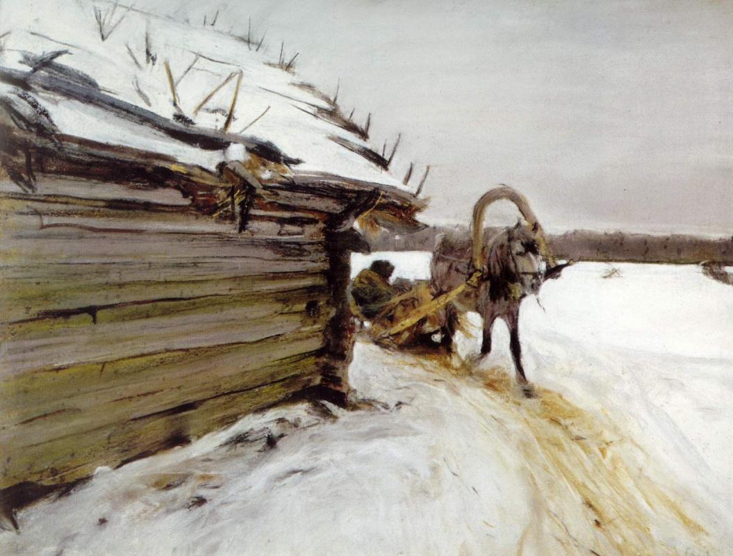 Валентин Александрович Серов. Зимой