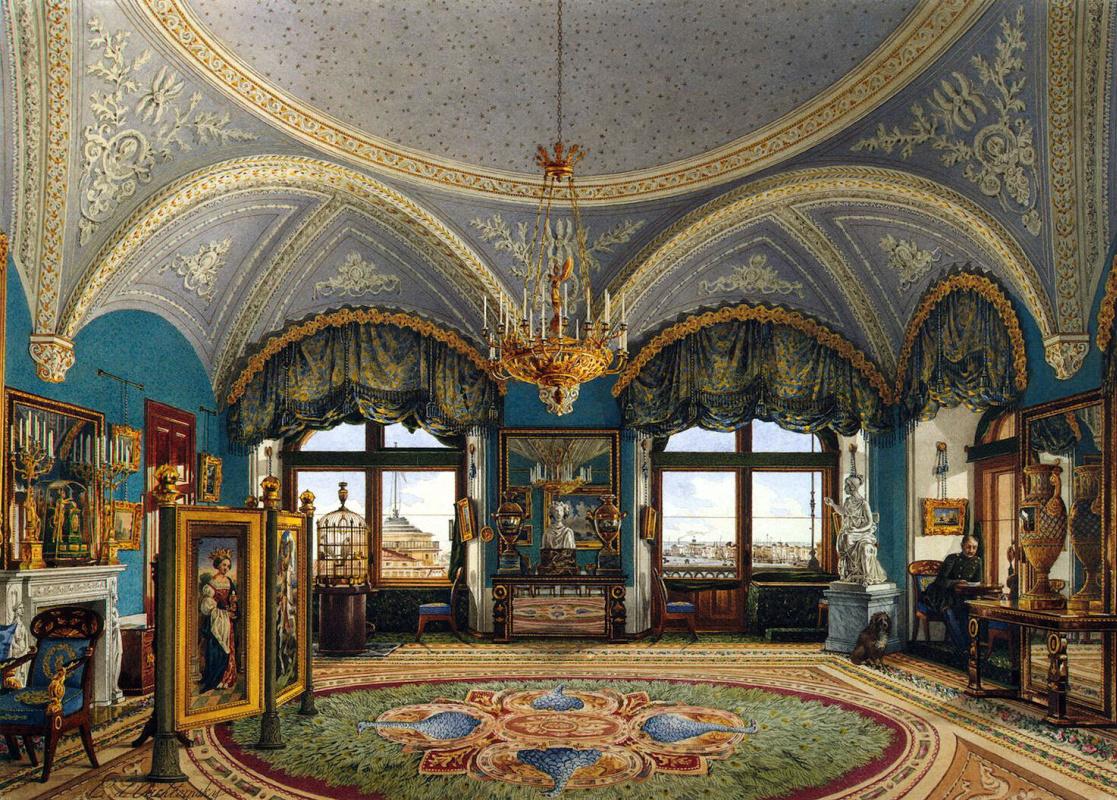 Константин Андреевич Ухтомский. Угловая гостиная императора Николая I