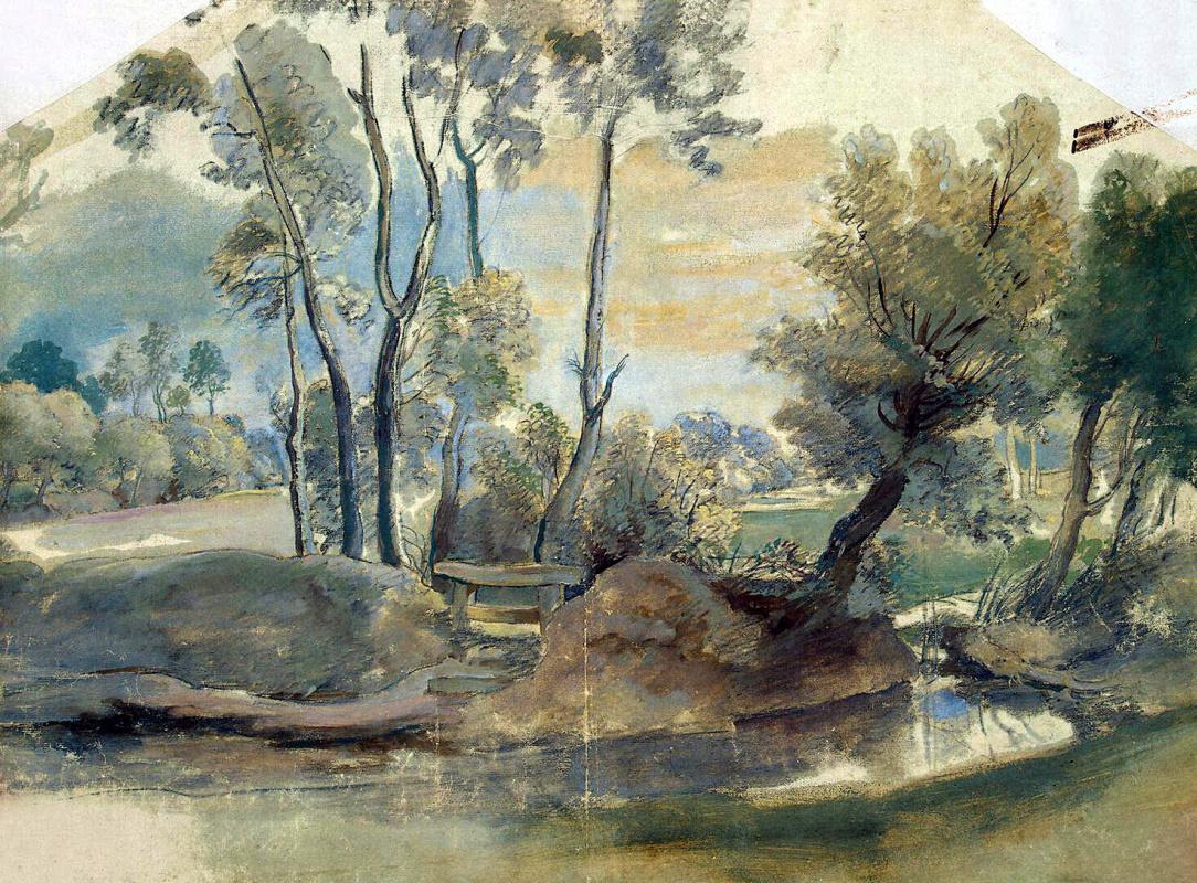 Питер Пауль Рубенс. Пейзаж с плотиной