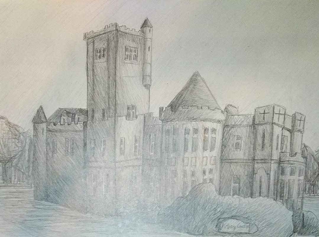 Zina Vladimirovna Parisva. Castle