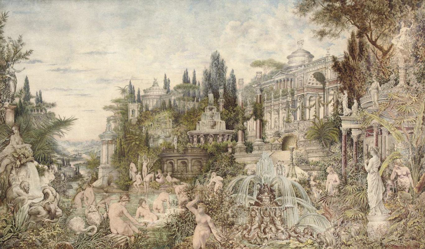 Wilhelm Kotarbinsky. Enchanted garden