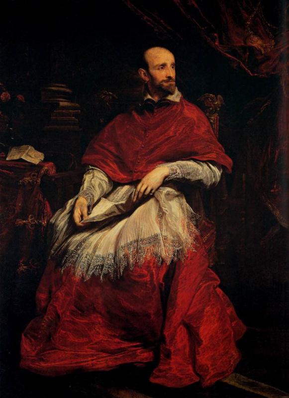 Антонис ван Дейк. Портрет кардинала Гвидо Бентивольо
