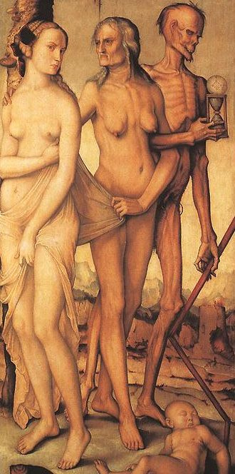 Hans Baldung. Three ages