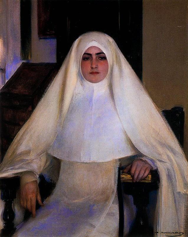 Рамон Касас Карбо. Монахиня