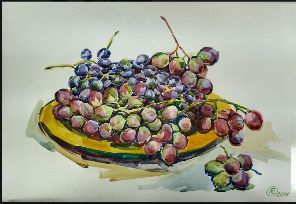 Lilia Georgievna Evsyukova. Grape day!