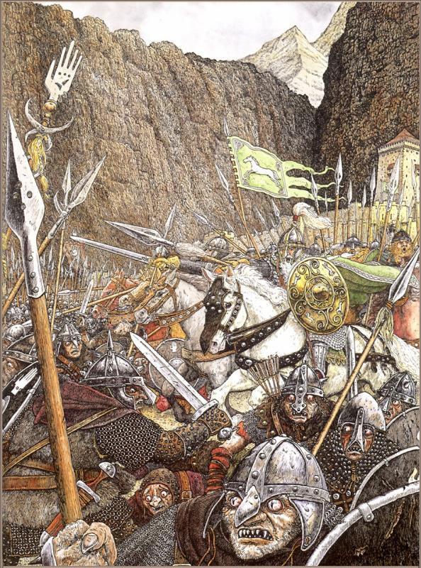 Прорыв Теодена в Хельмову падь