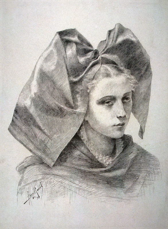 Анри Рове. Портрет девушки