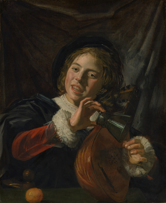 Frans Hals. Boy with a Lute