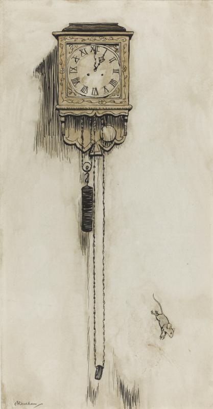 Arthur Rackham. Hickory, Dikori, Dock