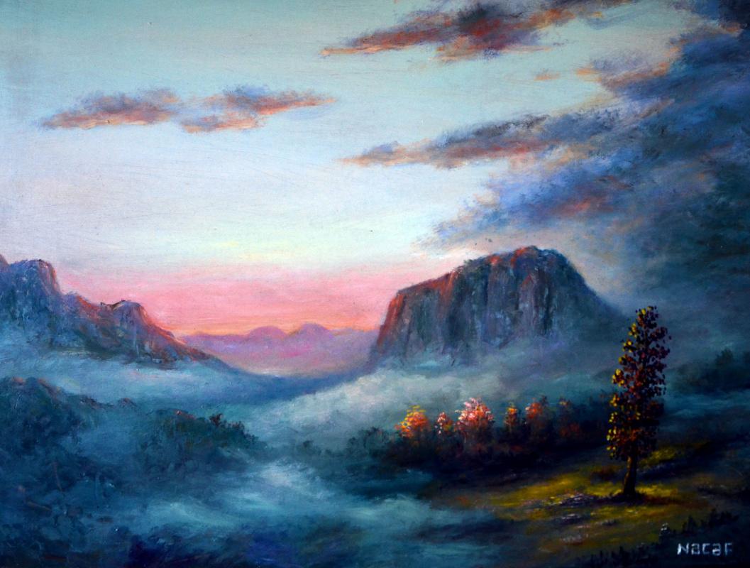 Наджаф Мамедали оглы Мамедов. Туман