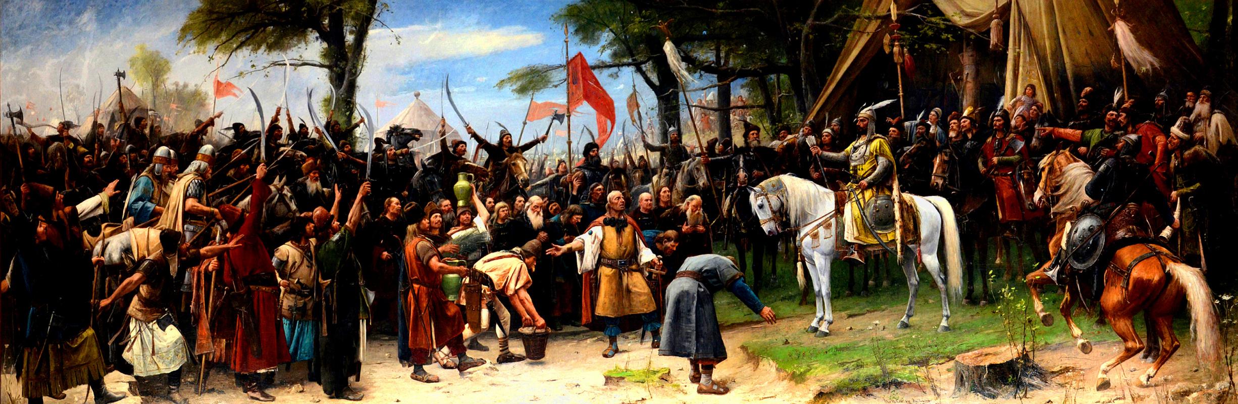 Михай Либ Мункачи. Завоевание. Поселение мадьяр в Венгрии (соавторство - Марсель Тиханьи)