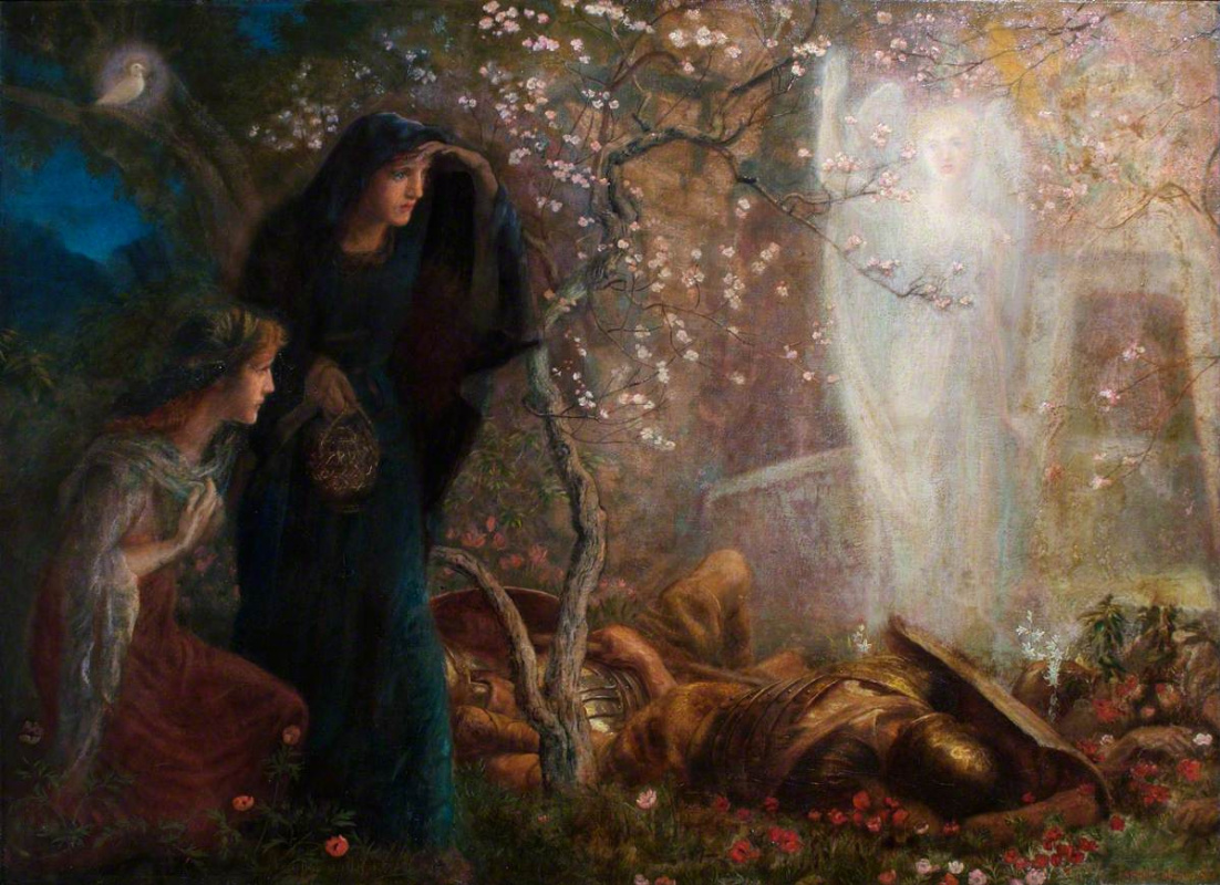 Arthur Hughes. First Easter