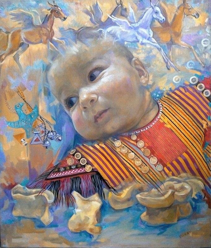 Сурай Мурадовна Акмурадова. Мой золотой Альчик