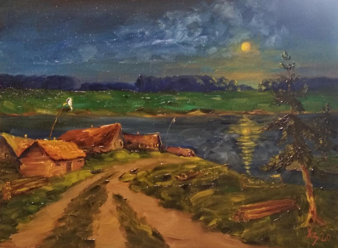 Sergei Nikolayevich Khodorenko-Zatonsky. Night