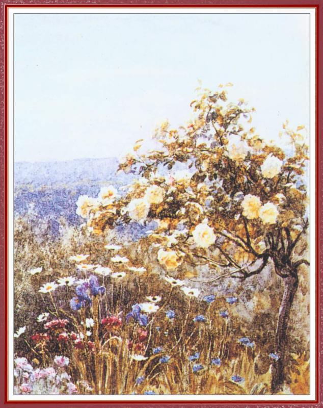 Helen Allingham. Roses