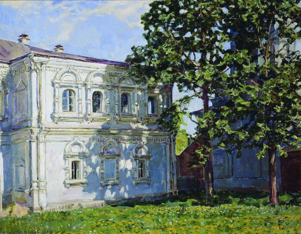 Аполлинарий Михайлович Васнецов. Дом бывшего Археологического общества