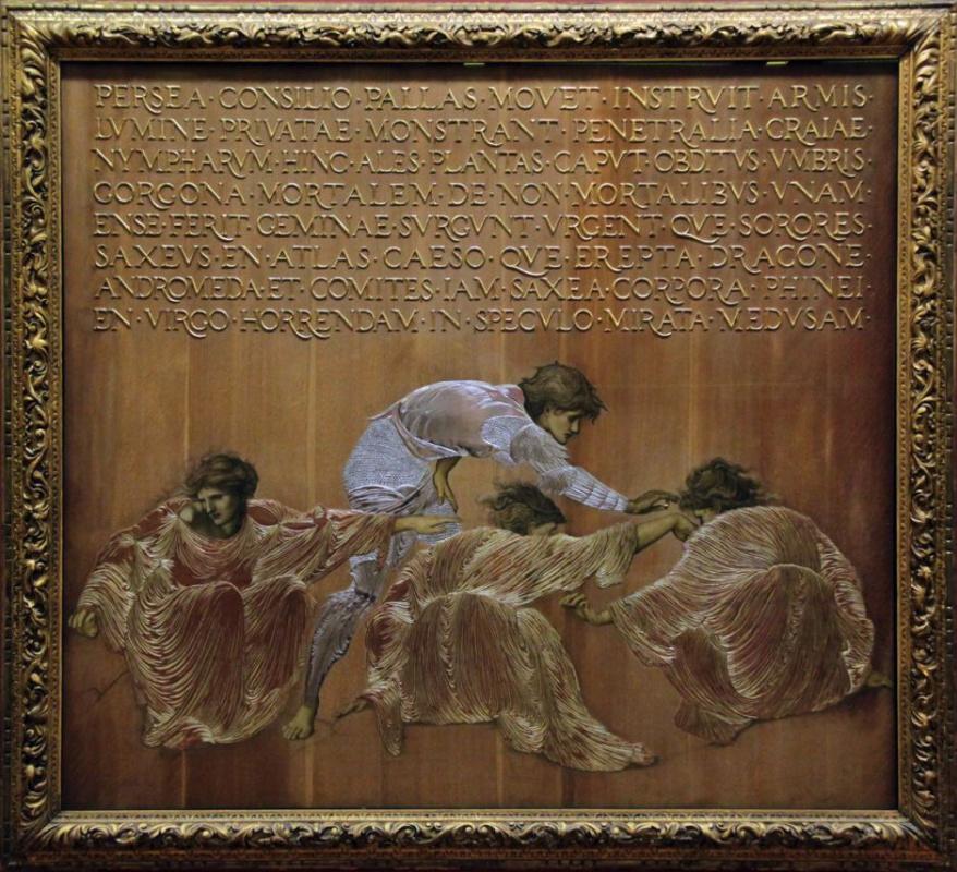 Edward Coley Burne-Jones. Perseus and the Graiae