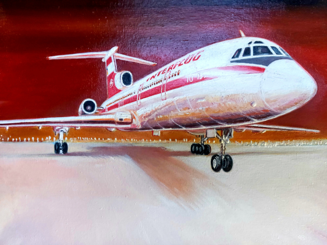 "Aviation Art. ""Приподнимаясь"""