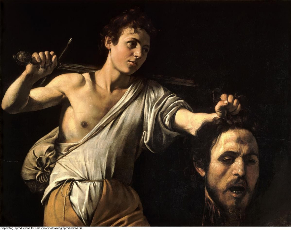 david with the head of goliath essay From blanton museum of art, claude vignon, david with the head of goliath (1620), oil on canvas, 1337 × 98 cm.