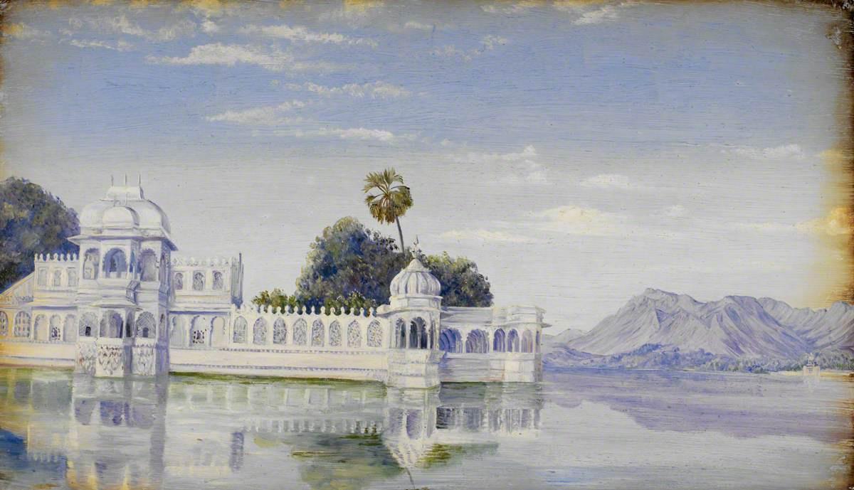 Marianna North. Water Palace, Udaipur, India