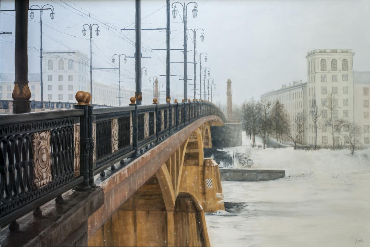 Вячеслав Юрьевич Шайнуров. Kirovsky bridge