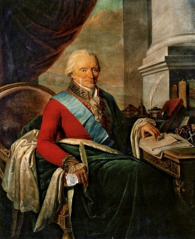 Никола де Куртейль. Портрет неизвестного сановника