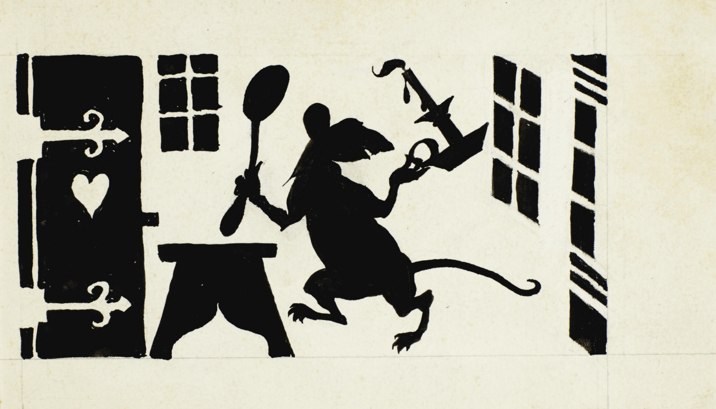 Артур Рэкхэм. Крыса