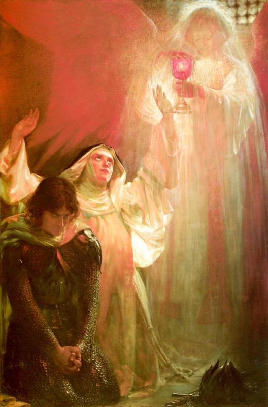 Сигизмунд Гетце. Видение сэра Персиваля сестры