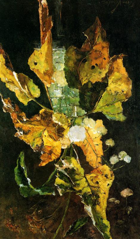 Флорис Верстер. Цветы и листья