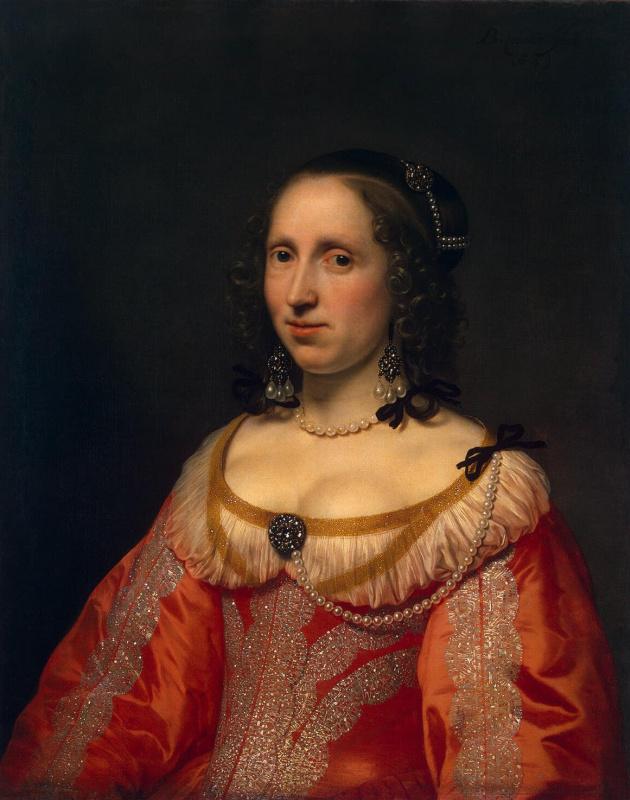 Бартоломеус ван дер Гельст. Женский портрет