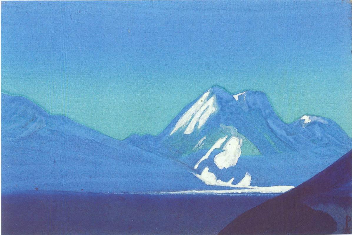 Nicholas Roerich. The Himalayas (Sapphire mountains)