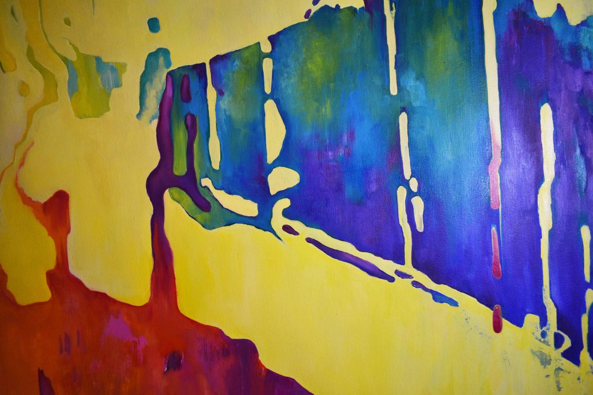 SOUNDS - original oil painting